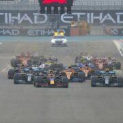 Largada na Fórmula 1